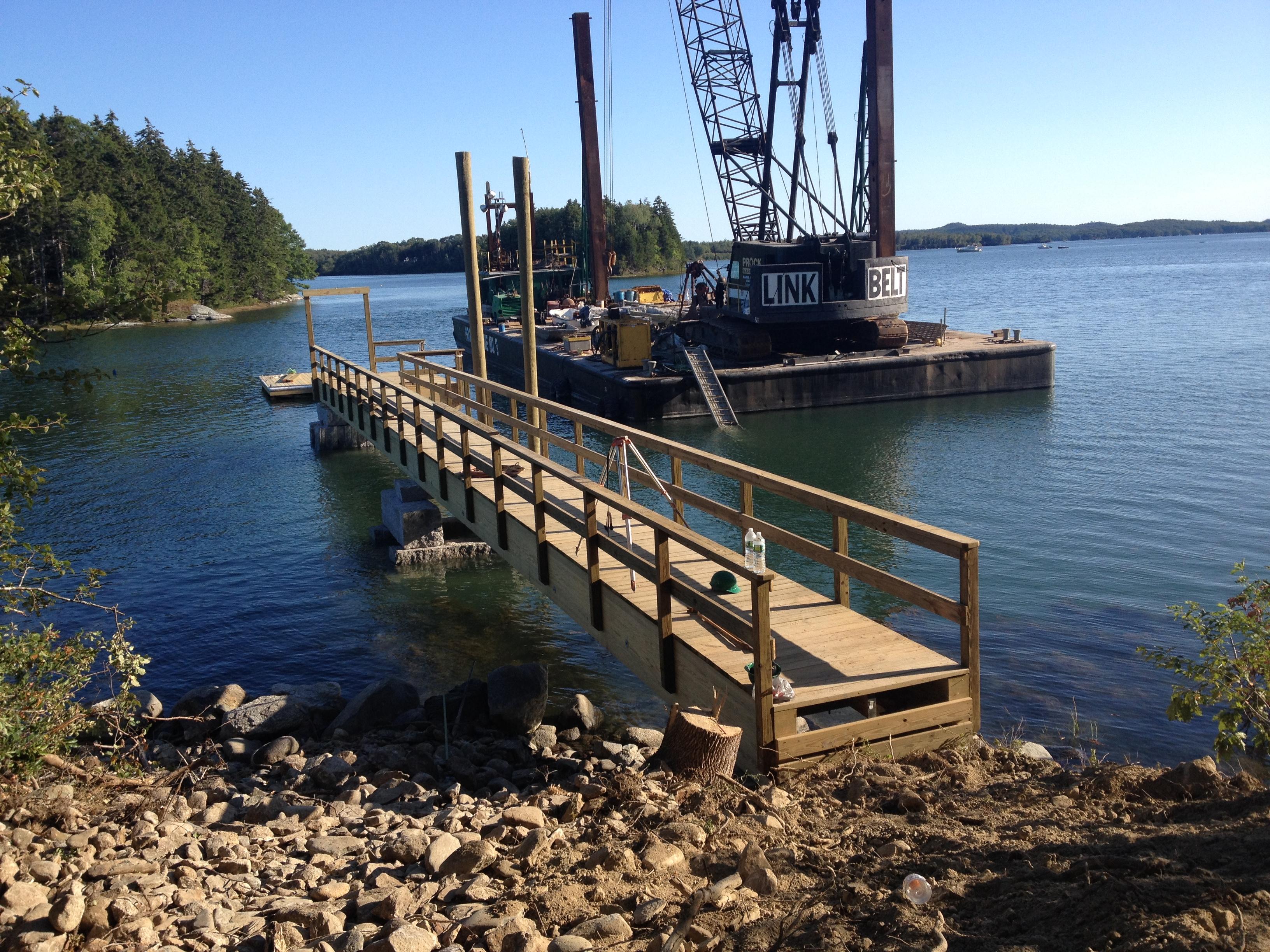 Castine Dock